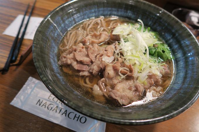 16_永田町乗り換えで蕎麦を食べました