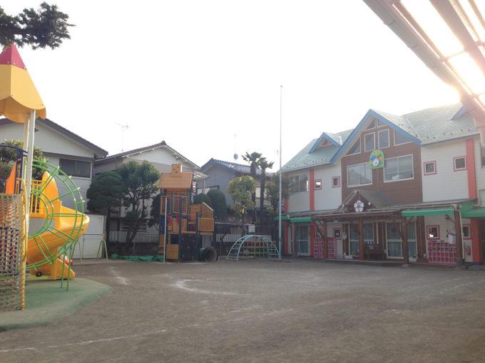01_白山幼稚園に到着