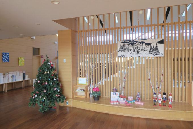 松風幼稚園のクリスマスツリー