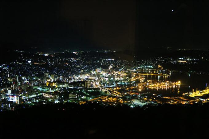 31_佐世保の町の夜景が一望