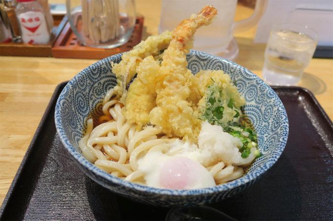 36_天ぷらうどん最高!