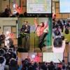 横浜市鶴見区わおわお保育園・保護者会催事にて動く大きな絵があるコンサートを行いましたよ☆