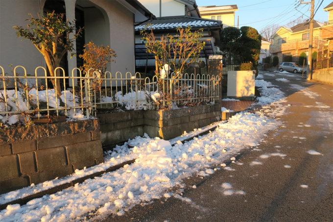 01_雪は溶けたかな?