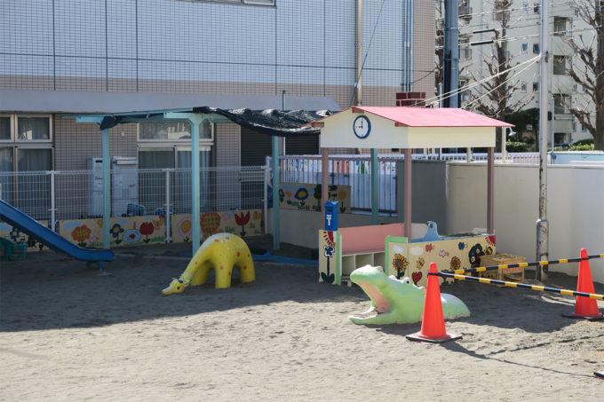 田島保育園にやってきました