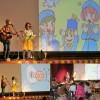 川崎市立橘小学校で親子コンサートだっ!