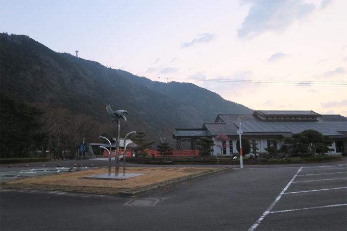 太龍寺の麓での朝