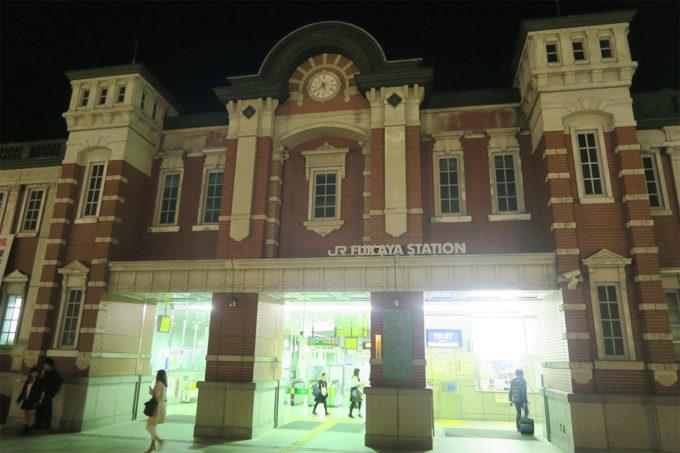 東京駅?いいえ深谷駅です