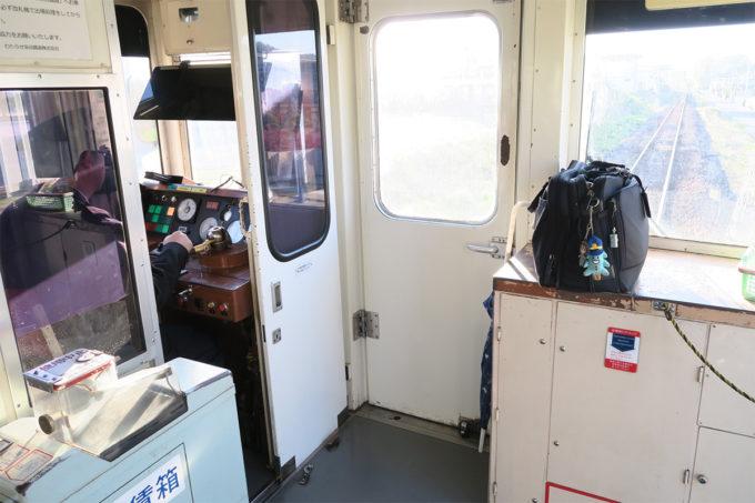 個室のような操縦席