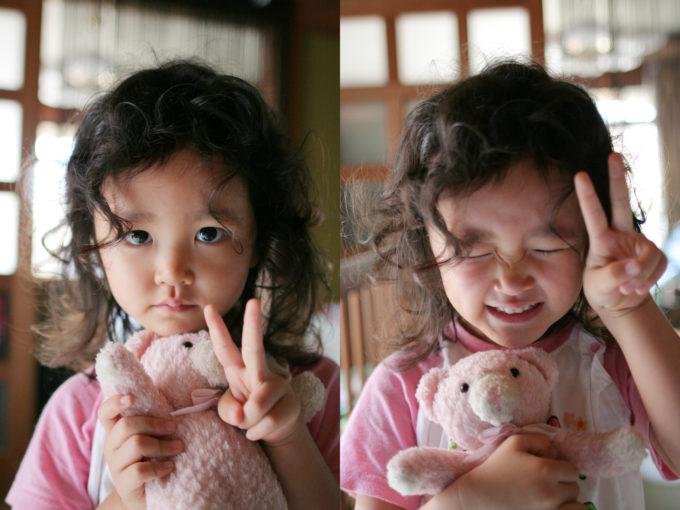 めいっこ(4歳)