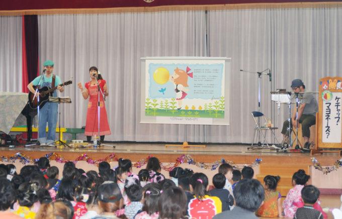 2009_初めての幼稚園での演奏