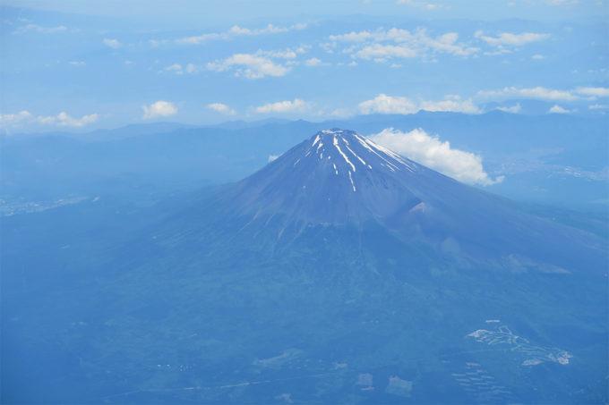 富士山の表面がよくわかります
