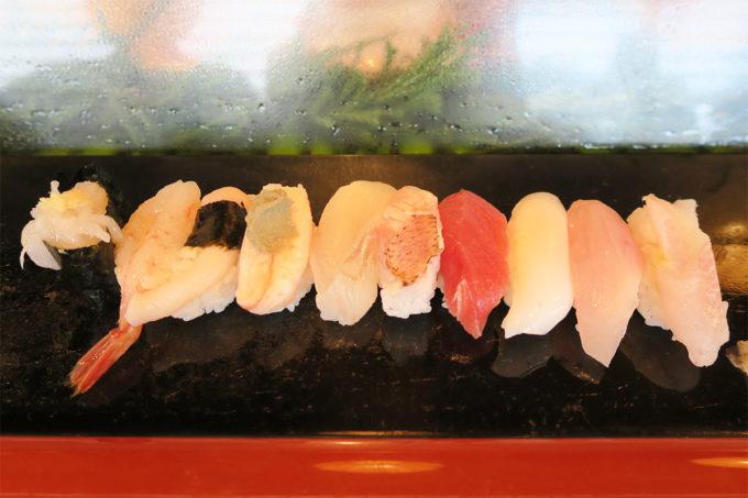 富山産おまかせ地物握り寿司!