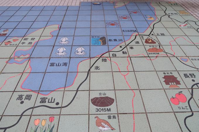 富山から新潟への高速道路