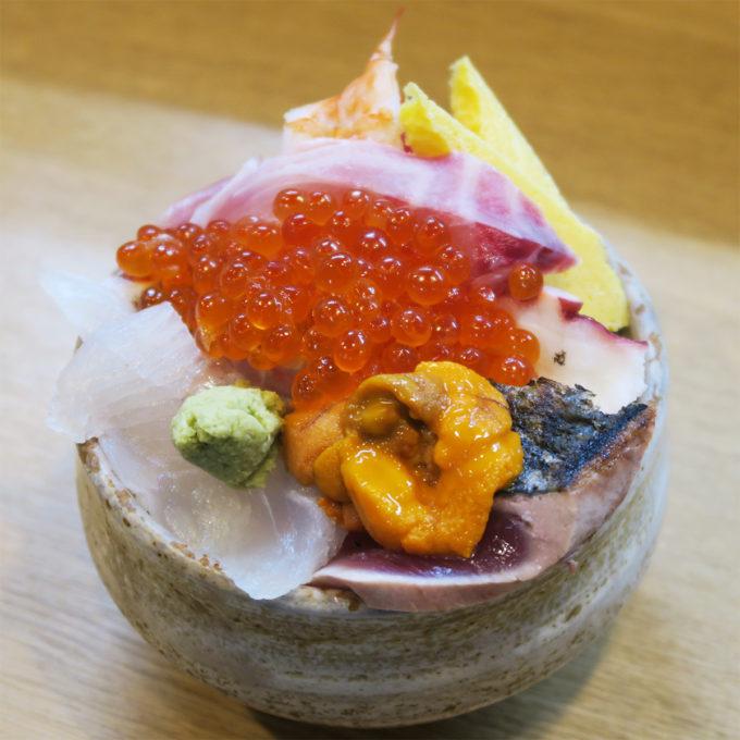 東屋親方のおすすめ海鮮丼