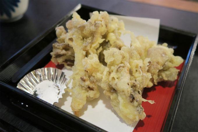 舞茸の天ぷら!