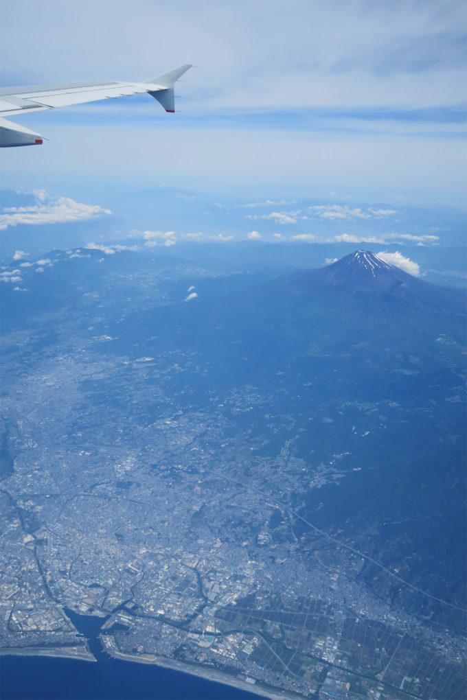 富士山の大きさがよくわかります
