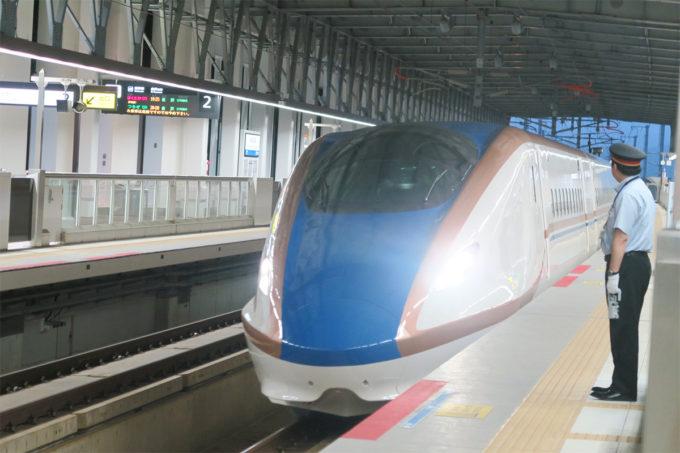 ようやく新幹線に乗れます