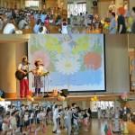 初の富山県!射水市・大門小学校2学年の親子活動でコンサート☆