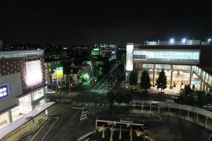 夜のたまプラーザ駅