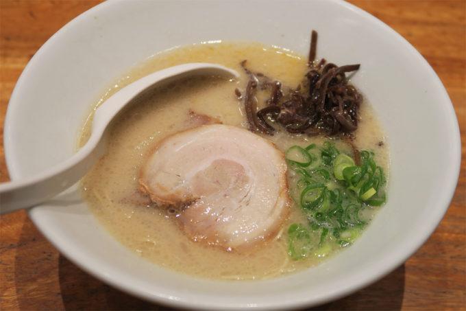 一風堂白丸元味麺硬め@たまプラーザ店