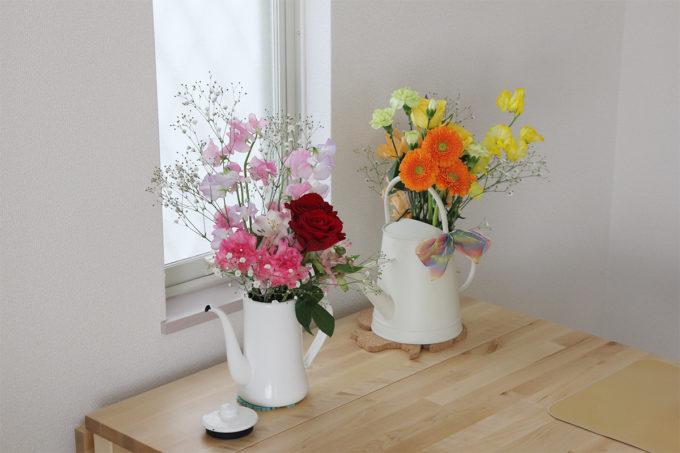 お花を飾ったり