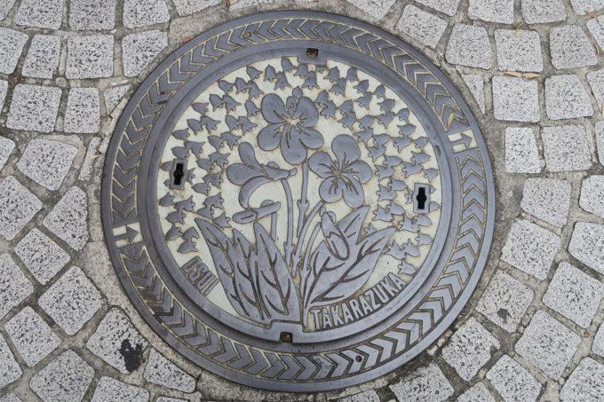 宝塚市はスミレの花
