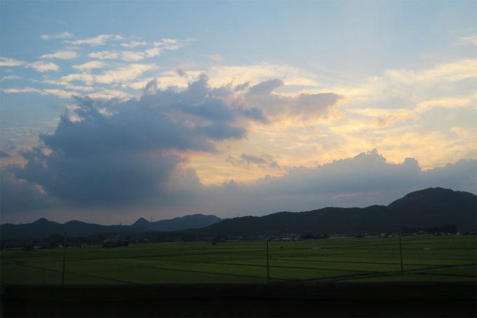 東北の美しい空