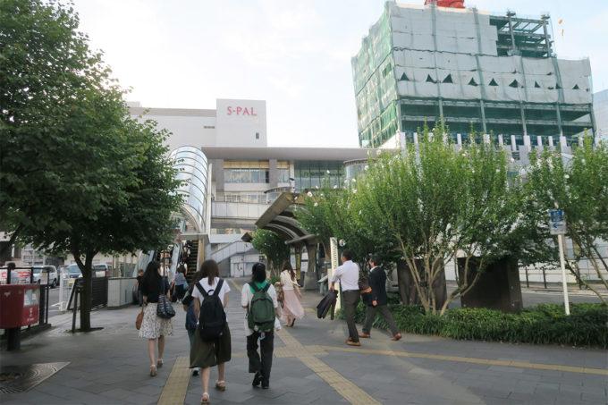 仙台駅の東口は初めて