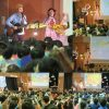 千葉県四街道市・中央保育所「観劇会」でコンサートを行いました☆鍵盤奏者のHAYATOさんと♪