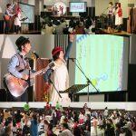 宮城県名取市・JA共済の「0歳からの親子コンサート」(inイオンモール名取)に出演しました!