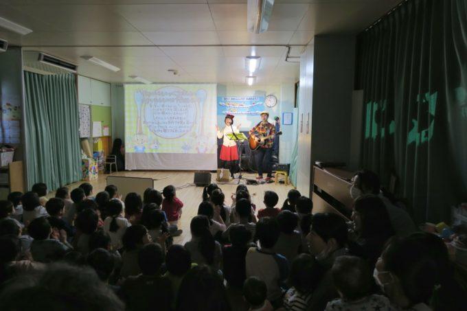 品川区・石井保育園ケチャマヨコンサート03