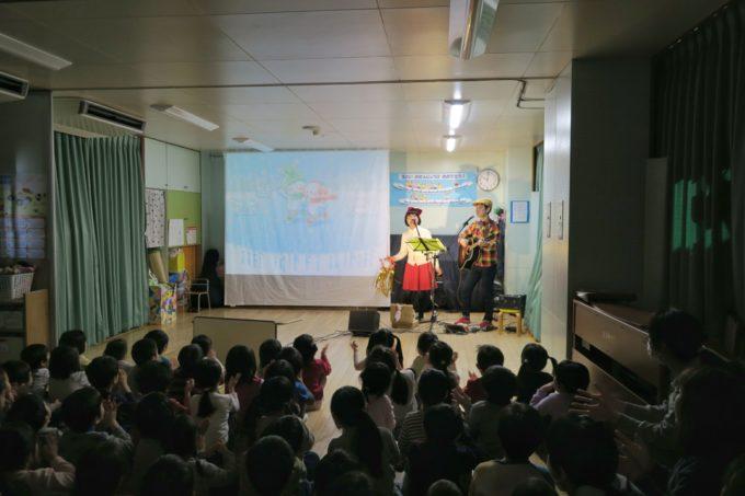 品川区・石井保育園ケチャマヨコンサート05