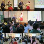 さいたま市・諏訪保育園でのコンサートは大成功☆雪降る日なのに熱気がすごい!