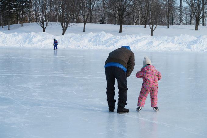 31_親子でスケート