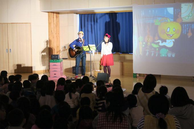 ケチャマヨコンサートin上士幌町認定こども園10