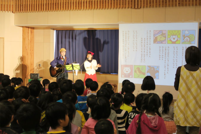 ケチャマヨコンサートin上士幌町認定こども園06