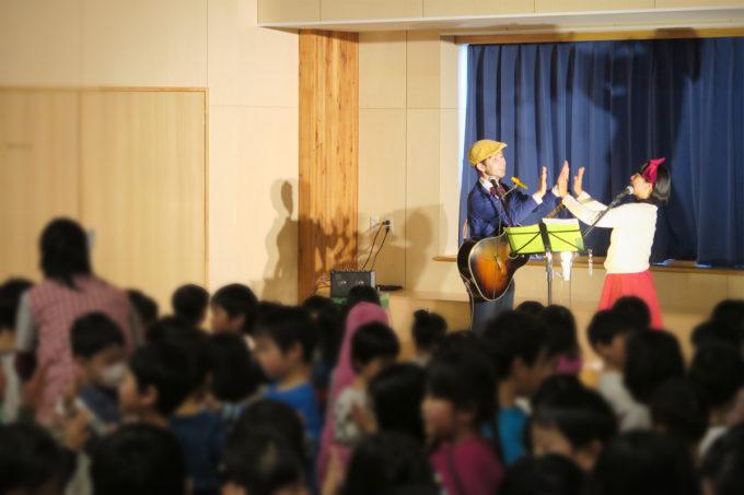 ケチャマヨコンサートin上士幌町認定こども園11