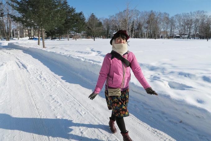 26_公園の中を歩く
