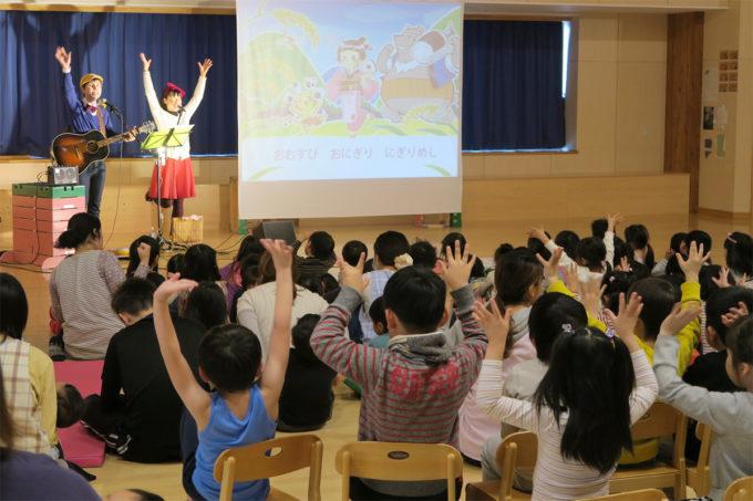 ケチャマヨコンサートin上士幌町認定こども園08