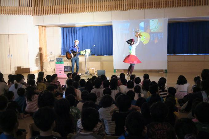 ケチャマヨコンサートin上士幌町認定こども園09