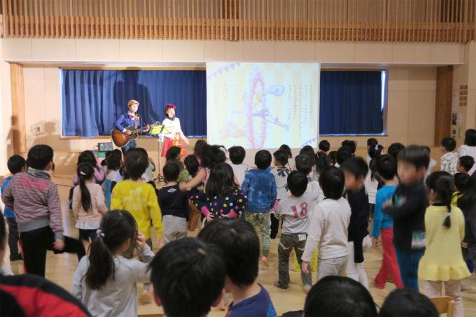 ケチャマヨコンサートin上士幌町認定こども園14