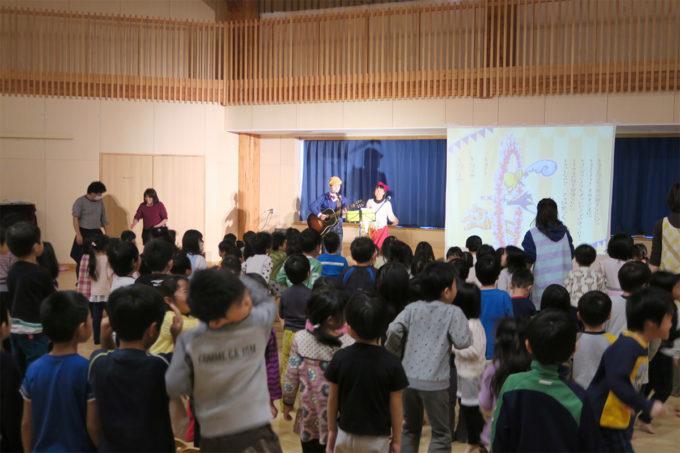 ケチャマヨコンサートin上士幌町認定こども園13