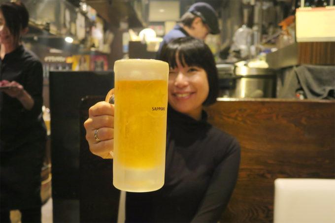 23_サッポロクラシック生ビールで乾杯!