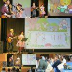 千葉県・横芝光町「幼児家庭教育学級合同閉級式」…という名の親子コンサートを行いました☆