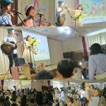 新宿区・二葉南元保育園で親子コンサートを行いました☆