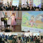 群馬県邑楽郡・エンゼル保育園お楽しみ会コンサートは親子でとっても盛り上がりました☆
