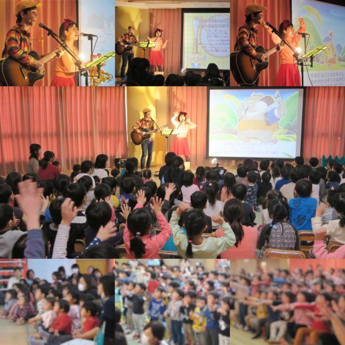 千葉県浦安市・高洲保育園でコンサートを行いました☆