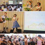 千葉県柏市・豊四季台わらび保育園《親子お楽しみ会》でコンサートを行いました☆
