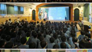 厚木幼稚園お楽しみ会コンサートに出演しました☆またしても匠の発明が…!?