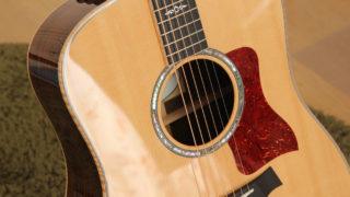 新しいギターが仲間入り☆Taylor 810e(ES2 Japan Limited)は花束のような音色です♪